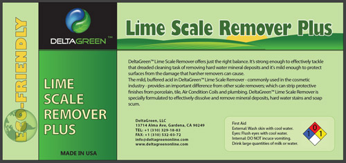 Lime Scale Remover Plus